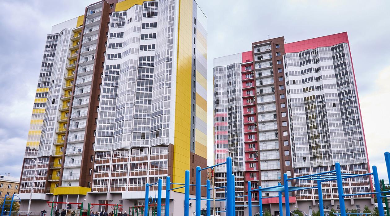 """«Комплекс общежитий для студентов """"Перья""""»"""