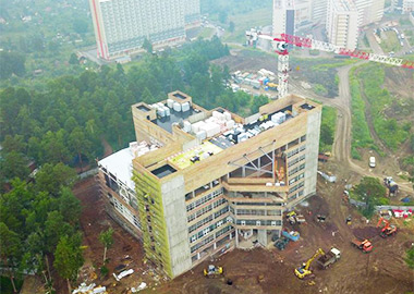 Сервис-холл (на стадии строительства)